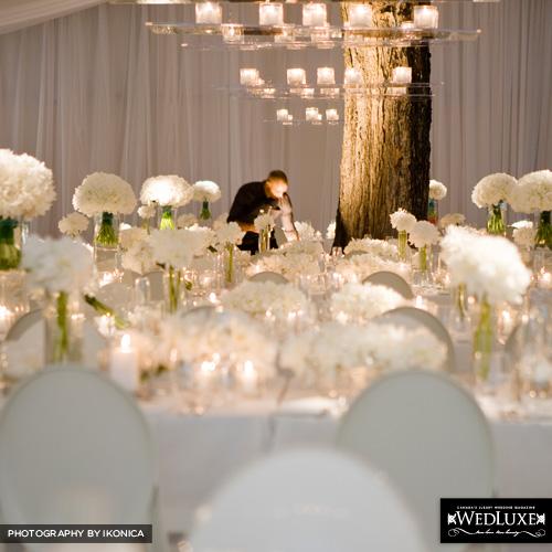 decoracao branca casamento:Casamento Perfeito: Decoração Branca!