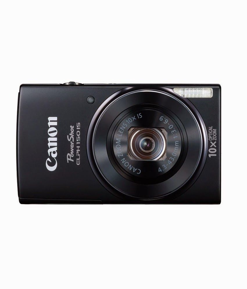 Snapdeal: Buy Canon Powershot SX170IS 16MP Digital Camera with 4gb card and case Rs.7408