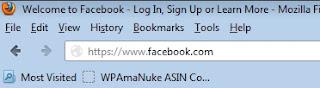 Cara Membuat Facebook / FB Baru + Gambar