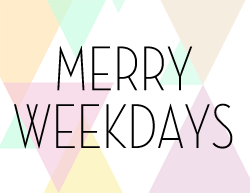 Merry Weekdays -sisustus/odotusajan blogini