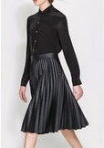 http://www.fecbek.com/fashion-black-pleated-medium-skirt-for-women-clskw302464.html
