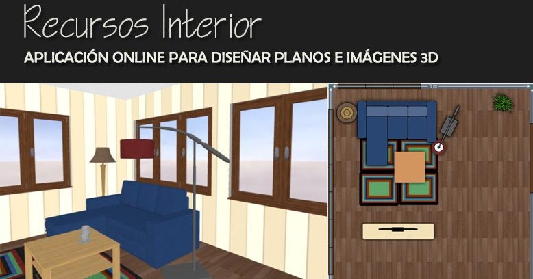 Aplicaci n online para dise ar planos e im genes 3d for Programa interiorismo online