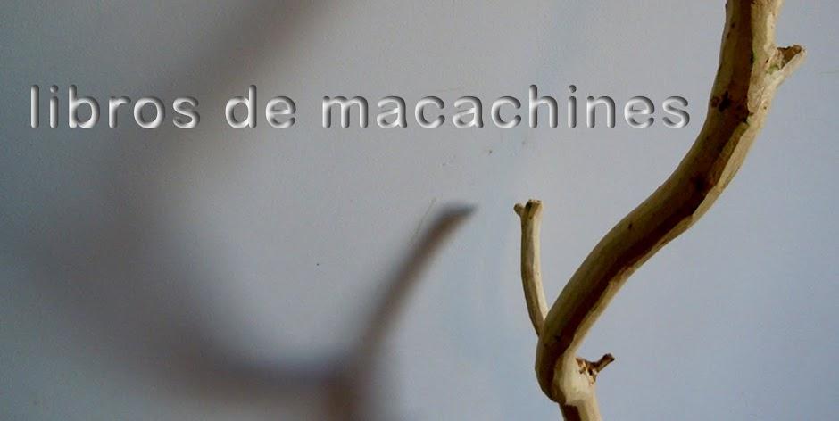 Libros de Macachines