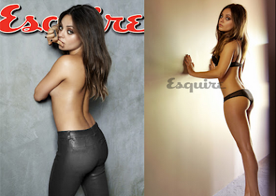 Mila Kunis Was Named Sexiest Woman Alive By Esquire Magazine, Taking