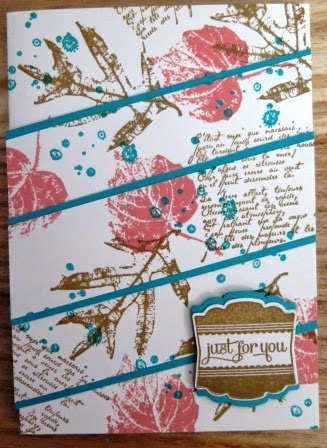 Triple layer technique classes held by Zena Kennedy Independent Stampin Up demonstrator