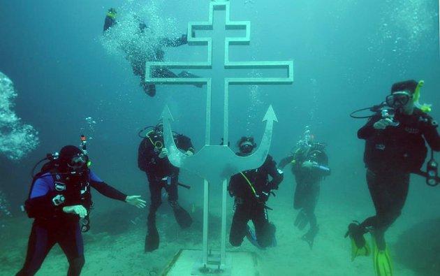 Gereja Bawah Air di Rusia