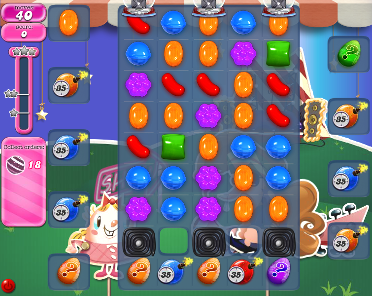 Level 408 | Candy Crush tips level 408