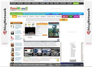 Tampilan Lama Blog Facewoman 2012