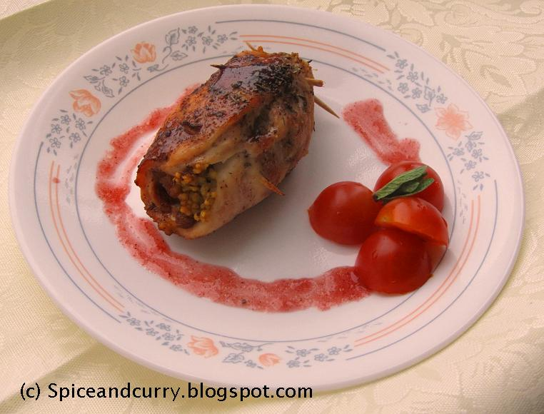 Spice and Curry: Couscous and Dried Fruits Stuffed Roasted ...