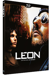Jaquette du Blu-ray de Léon