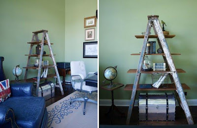 Cool and Creative Ways To Reuse Ladders (15) 12