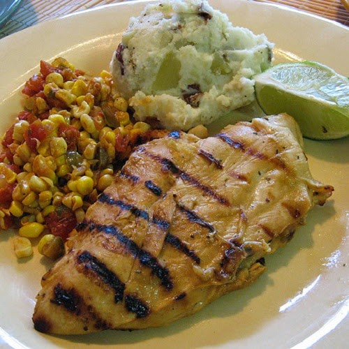 http://secretcopycatrestaurantrecipes.com/applebees-tequila-lime-chicken-restaurant-recipe-with-mexi-ranch-dressing/