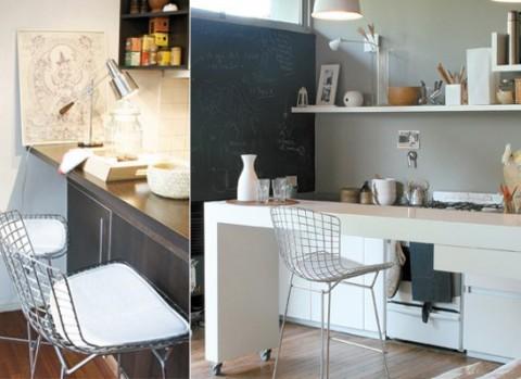 Barras y taburetes en la cocina decoraci n - Sillas para barras de cocina ...