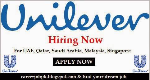Unilever job vacancies in UAE 2016