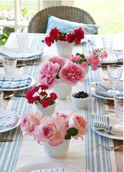How to decorate with roses