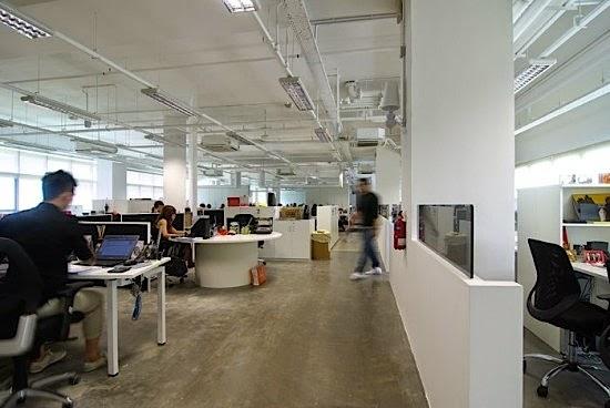 Contoh Desain Kantor Minimalis