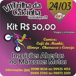 VII TRILHA DA CALCINHA