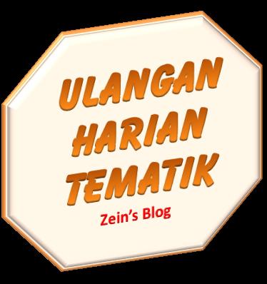 Latihan Ulangan Harian Tema 4 Subtema 3 Mister Zain S Simple Blog