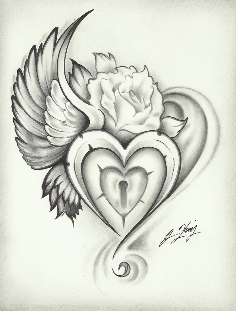 rose tattoo flash