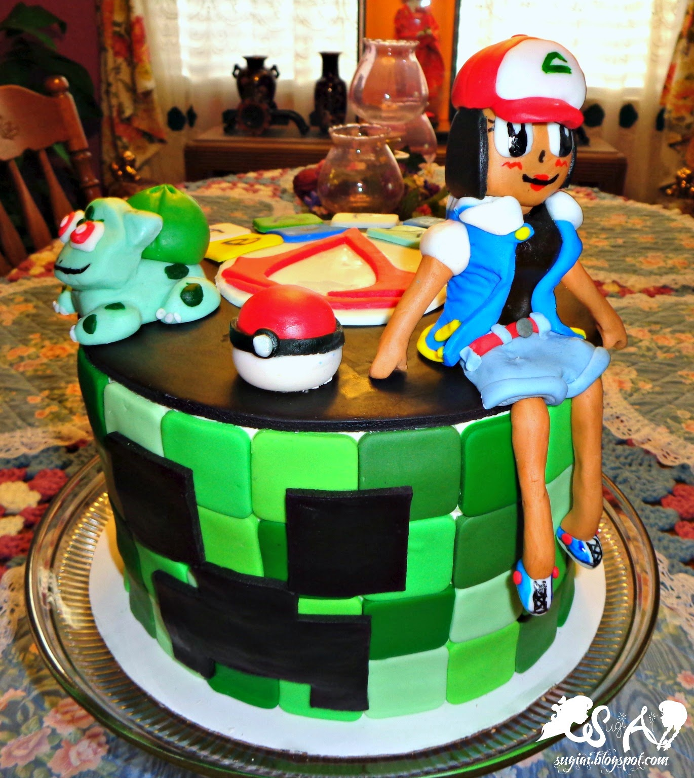 SugiAi: Happy St. Patrick's Day And A Video Game Birthday Cake