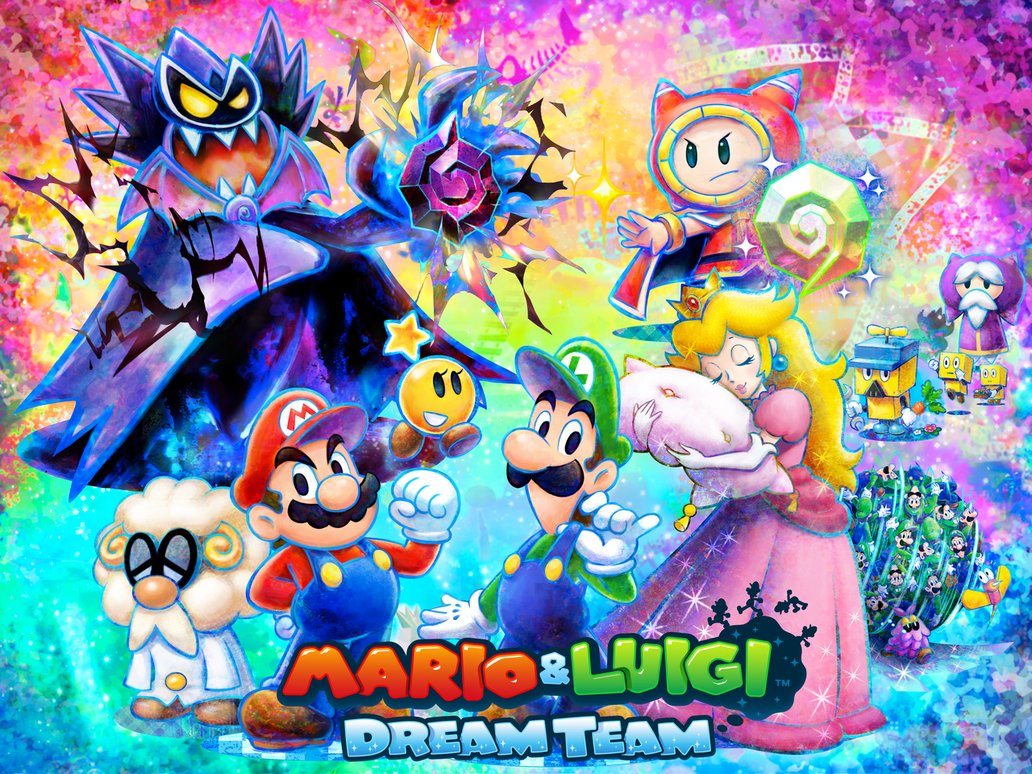 Mario and Luigi Dream Team Bros