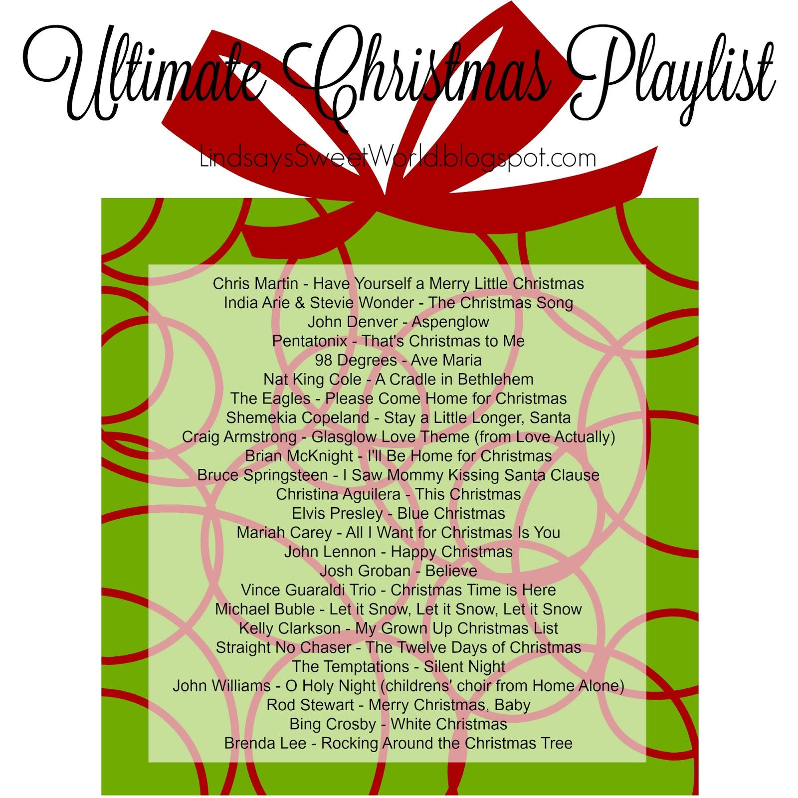 Lindsay\'s Sweet World: Lindsay\'s Sweet World\'s Ultimate Christmas ...