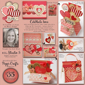 All Hearts 3D Pop-up Box Cards