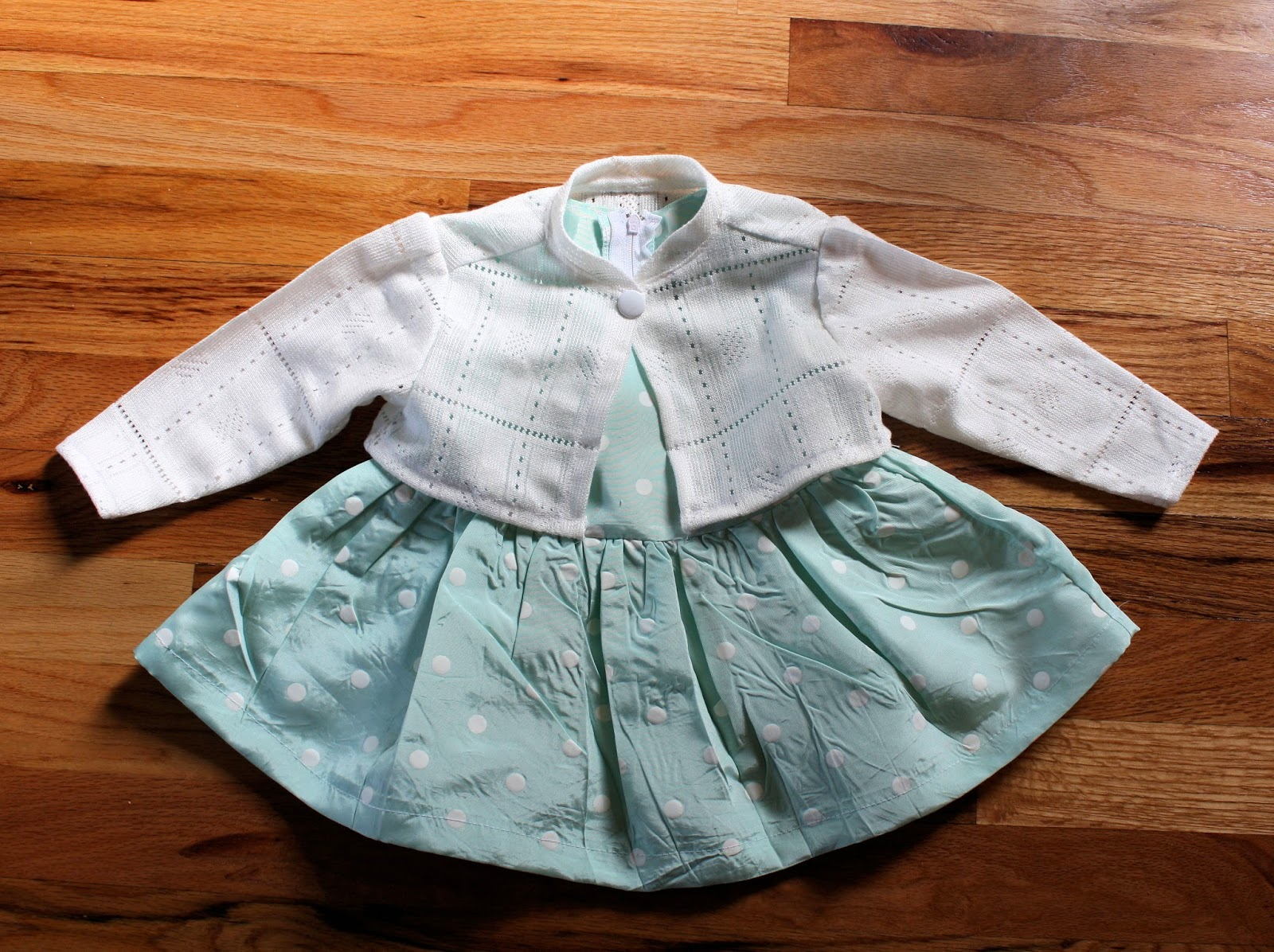 Running With Scissors: Birthday Dress for a Baby Girl