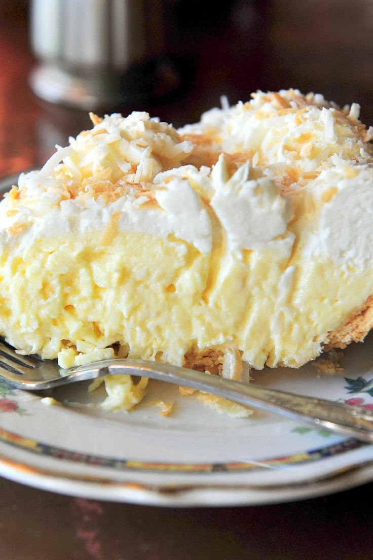 Old Fashioned Coconut Cream Pie | Boy Meets Bowl