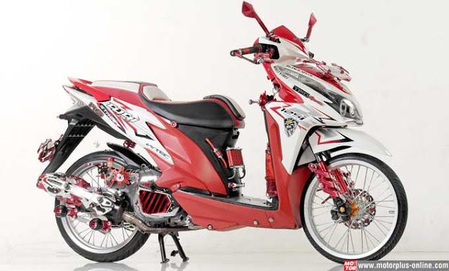 Foto Modifikasi Motor Honda Vario Terbaru 2015