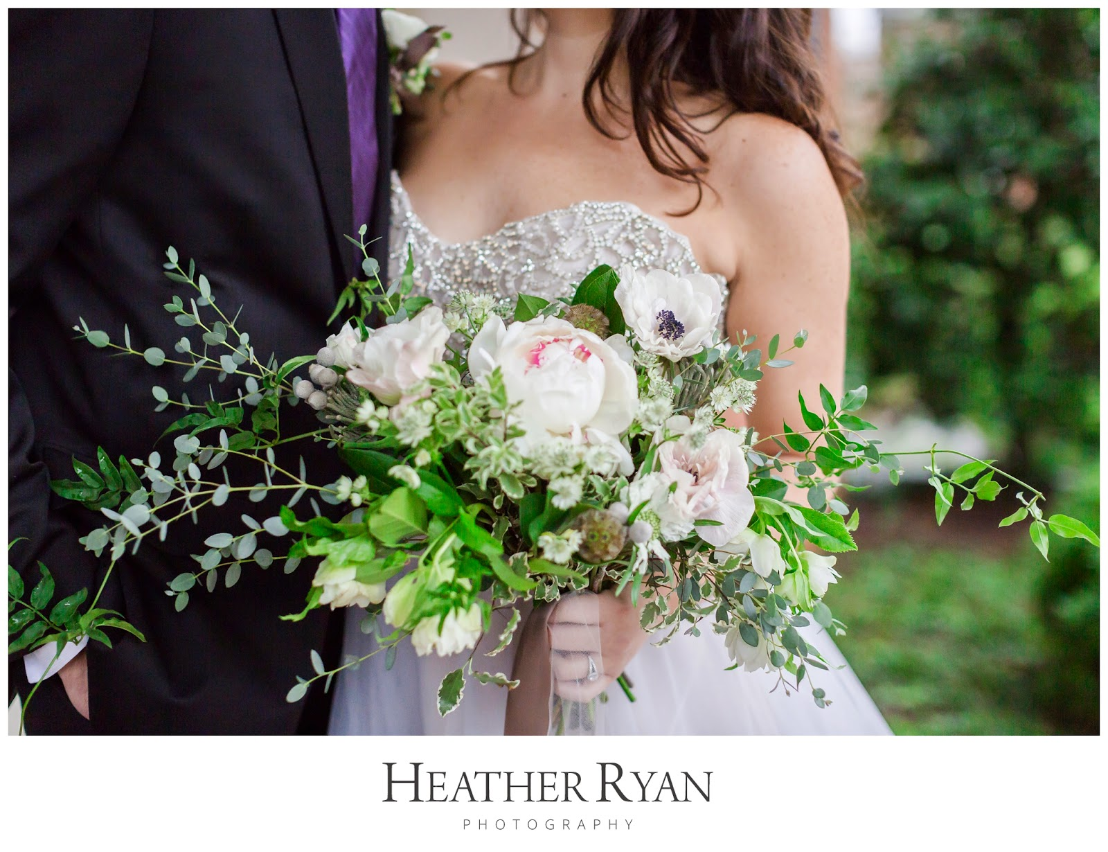Organic Wedding Inspiration from the Bayside Bride Workshop | Photos by Heather Ryan Photography