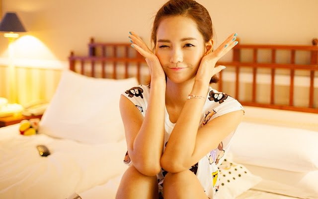 1 Um Ji Eun - very cute asian girl-girlcute4u.blogspot.com