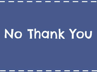 Learn to say No Thank You