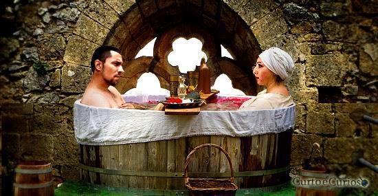 História e curiosidades do Banho Medieval
