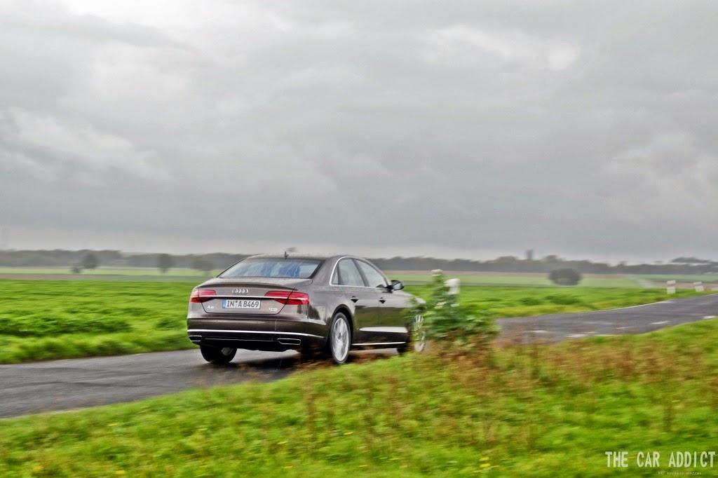 Audi A8 Argus Brown