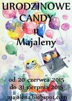 Urodzinowe Candy u Majaleny