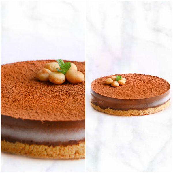 Mousse Helado de Chocolate Chispeante