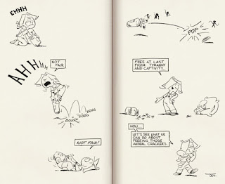 Time for Frank and His Friend by Clarence 'Otis' Dooley - sample page B - Curio & Co.