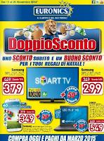 Natale 2014 - Volantino offerte Euronics Doppio Sconto