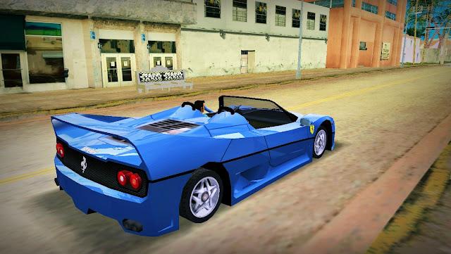 Ferrari F-50 GTA Vice City