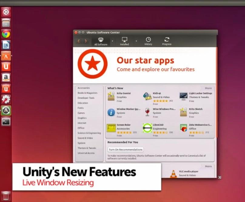 Fitur Baru di Ubuntu 14.04