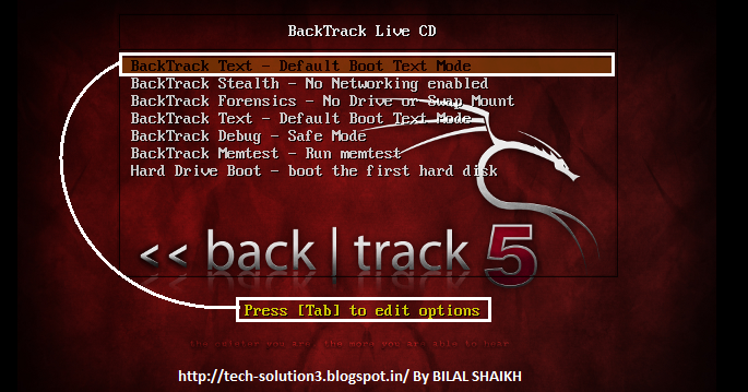 how to make backtrack 5 r3 bootable usb