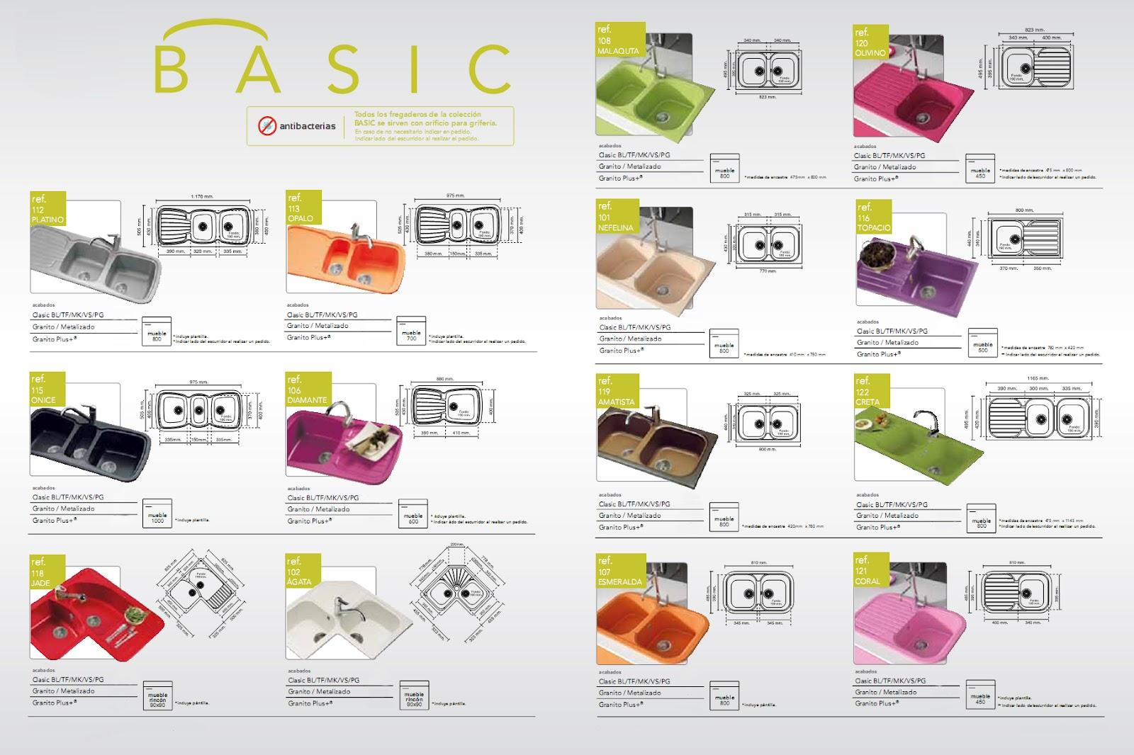 Productos para el hogar por marca fregaderos de cocina colores - Fregaderos de colores ...