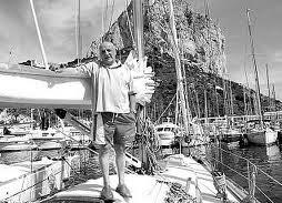 images Mit Ernst Peter, Überlebenden des 1943 gesunkenen U Boot vor Calpe   Erlebnisse von Judith Finsterbusch mit Regisseur Fernando Navarrete
