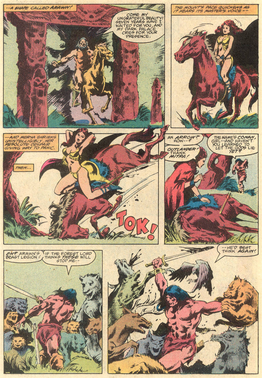 Conan the Barbarian (1970) Issue #135 #147 - English 19