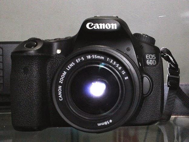 Kamera DSLR second Malang  Canon EOS 60D + Kit