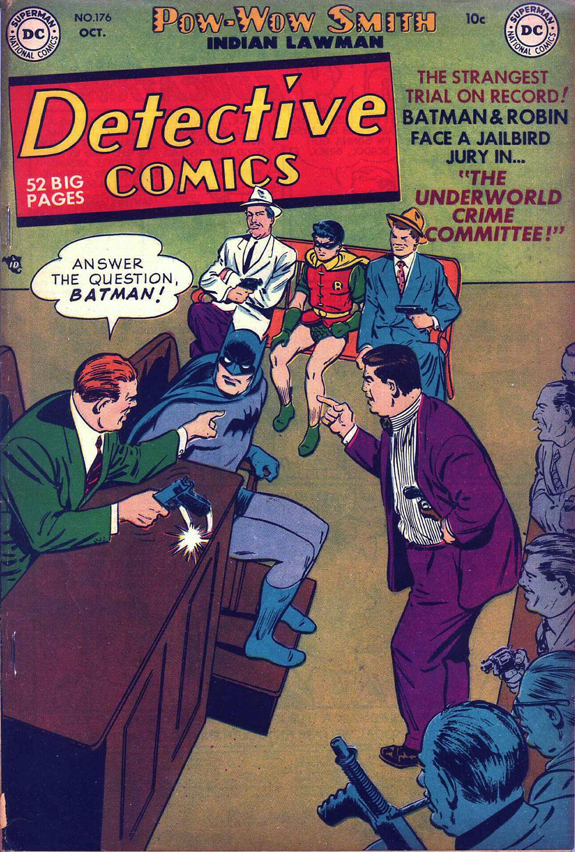 Detective Comics (1937) 176 Page 1