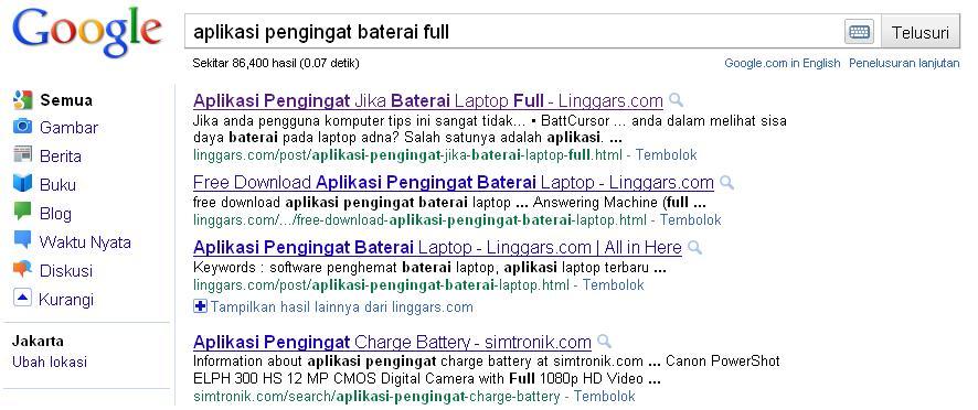 contoh web spam