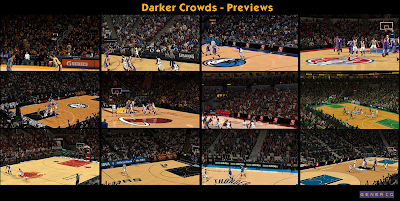 NBA 2K14 Darker Stadium Crowd Mod