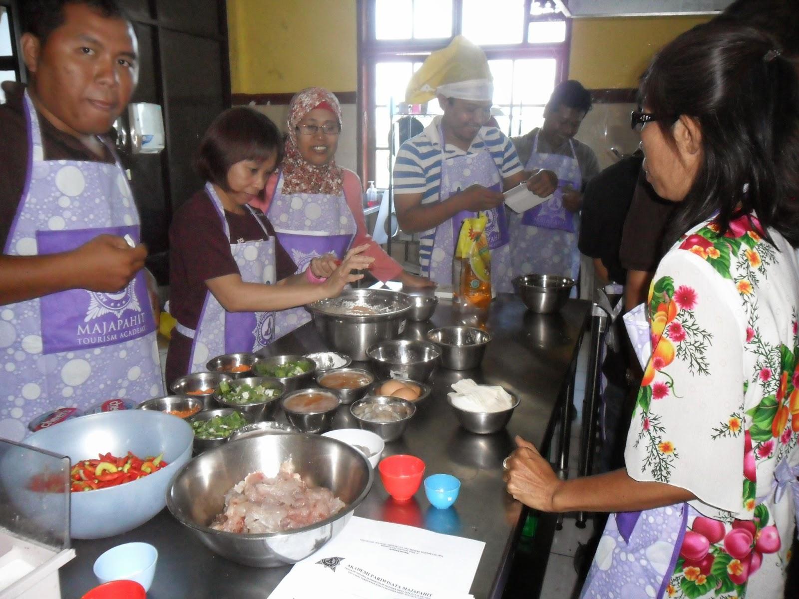 kursus masak terbaik amp terlengkap di indonesia kursus